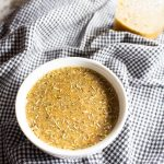 AIP Balsamic Rosemary Sauce in a bowl